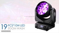 Guangzhou 19x10w zoom moving head martin mac aura lighting