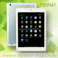 shenzhen tablet pc software download 7.85'' RK3188 quad core cheap tablet pc