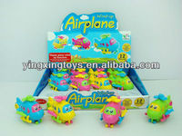Kids toy plastic wind up plane