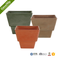 SPW Square Flower Pot With Automatical Watering Stystem