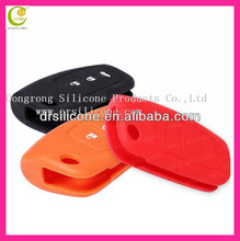 Decorative custom brand logo silicone car key remote shell for audi/ford/buick/vw/honda/kia/nissian