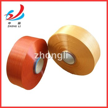 dope dyed color polyester POY yarn