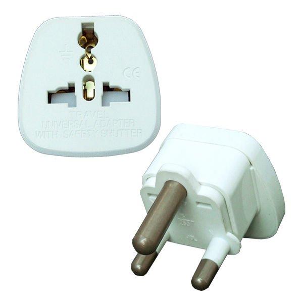 Inde plug adapter avec obturateur de s curit prises douilles lectriques id de produit - Prise electrique inde ...