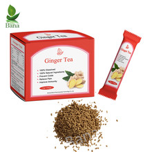 Healthy Instant Red Box Brown Crystal Granulated Ginger Tea