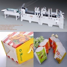 GK-650/780CA Bottom Lock Gluing Folding Machine for Paper Packaging