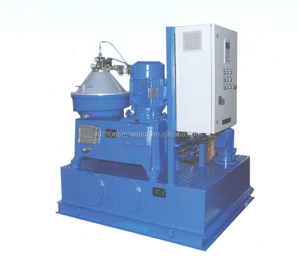 Marine and land use Mineral oil disc centrifuge separator for lube & fuel & diesel oil clarifying with PLC control box