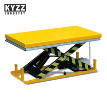 Heavy duty electric hydraulic stationary scissor lift <strong>table</strong>