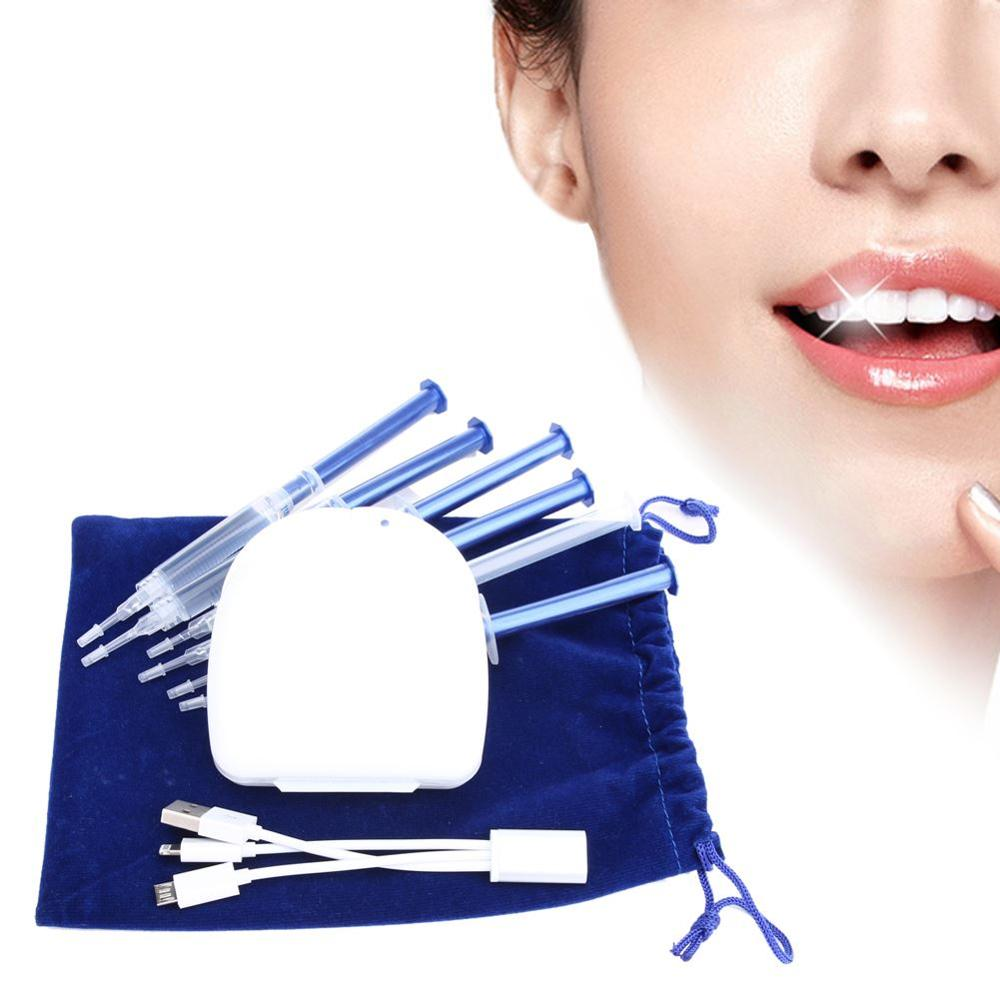 BSEL New Promotion Teeth Whitening 16LED Teeth Whitening Kits 44% Carbamide Peroxide Bleaching Oral Gel Convenient use