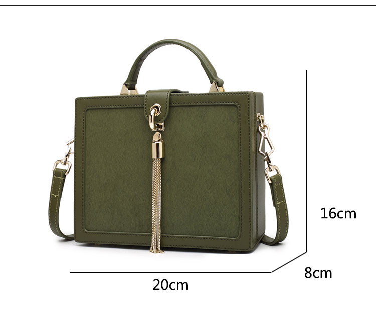 Factory directly wholesale small leather shoulder bags square style women sling shoulder bag