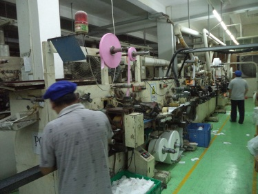 Sanitary Napkin Producing