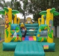HOLA jungle inflatable bouncer/bounce castle for kids