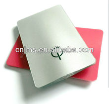 promtion plastic credit card shapeled flat credit card flashlight