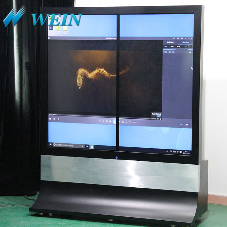 Factory direct floor standing advertising cd display player