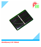 Epoxy resin 0.15W 1.5V 100mA mini solar panel
