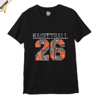No.26 Basketball Cotton Custom Man T-shirt