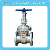 Cast Steel Rising Spindle Plug Gate Valve Long Stem