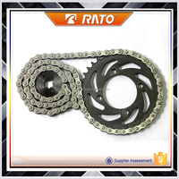 Good price China custom sprockets and chain for motorcycles