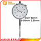 high quality precision mechanical measuring tool dial face 80mm 0-50mm 0.01mm metric dial indicator gauge