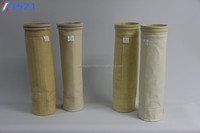 Water and oil proof PPS dust collect needle filter bag