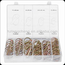 TC BV Certification 50pc Assorted Auto Lock Pin
