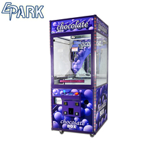 Automatic coin operated chocolate crane claw vending machine for sale