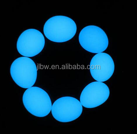 Creative decoration best glowing stones glowing pebbles customized Luminous pebbles