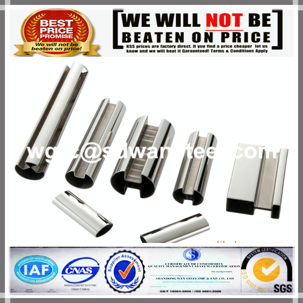 Stainless Steel Special Shape Oval Pipe Tube