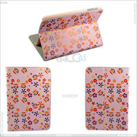 Cartoon Stand Leather Case With Monkey Grain for iPad Mini iPDMINICASE070
