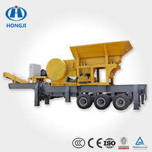 Good Quality Used Wheel Mounted Mobile Crushing And Screening Plant