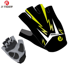 Pro X-Tiger Brand Breathable Racing MTB Bicycle Cycle Gloves/Pro GEL Pad Cycling Ciclismo Gloves/Mans Bike Sports Gloves