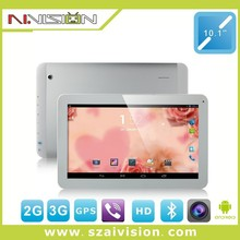 10.1 inch android tablet pc 3g gps wifi