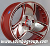 racing/jeep car alloy wheels 14x6.5inch three color