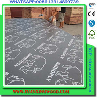 manufacture supply concrete panel film faced anti-slip plywood for concrete form use