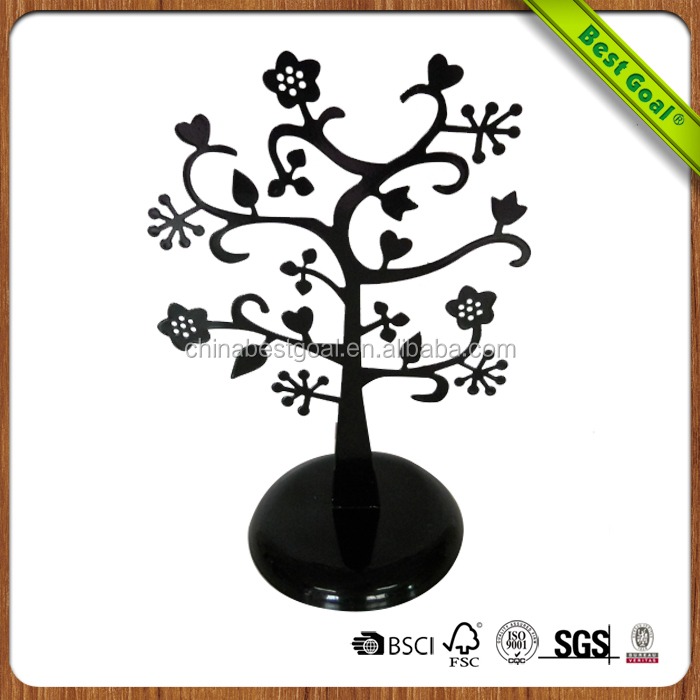 Metal custom color iron jewelry tree