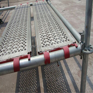 320mm Metal Board Steel Plank Ringlock Scaffolding
