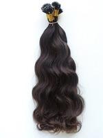 New year privilege Brazilian human hair curly nano ring virgin remy hair extension
