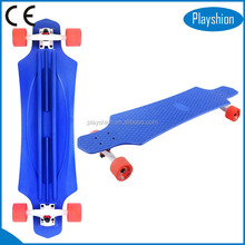 New Summer promotion fiberglass skateboard /plastic longboard for adult