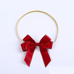Wholesale Gift Packing Use Pre Made Pull Ribbon Bow