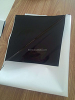Low density polyethylene white and black film