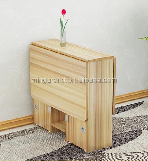 Goedkope Moderne Opvouwbare Houten Eettafel Voor Meubelen houten tafels product ID 60528967871