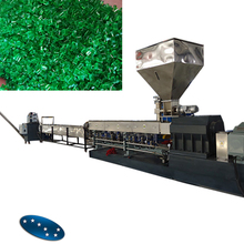recycle plastic granules making machine price / plastic granulating machine
