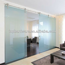 Stainless steel sliding door system