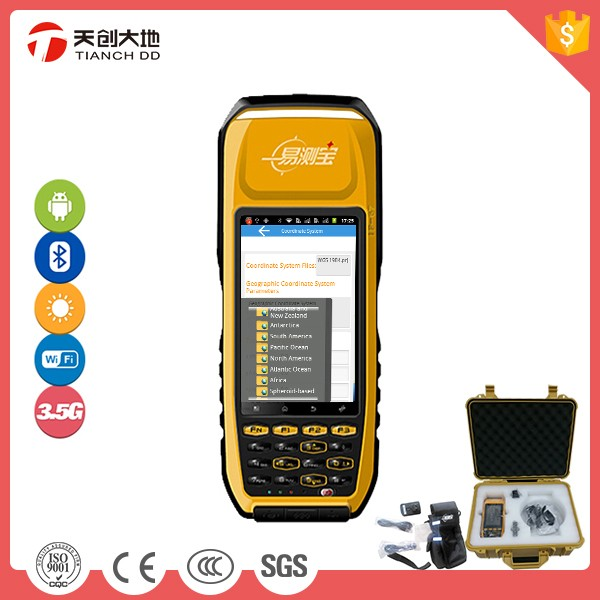 Android New Handheld Submeter(Below 1m) Accuracy Geophysical Equipments