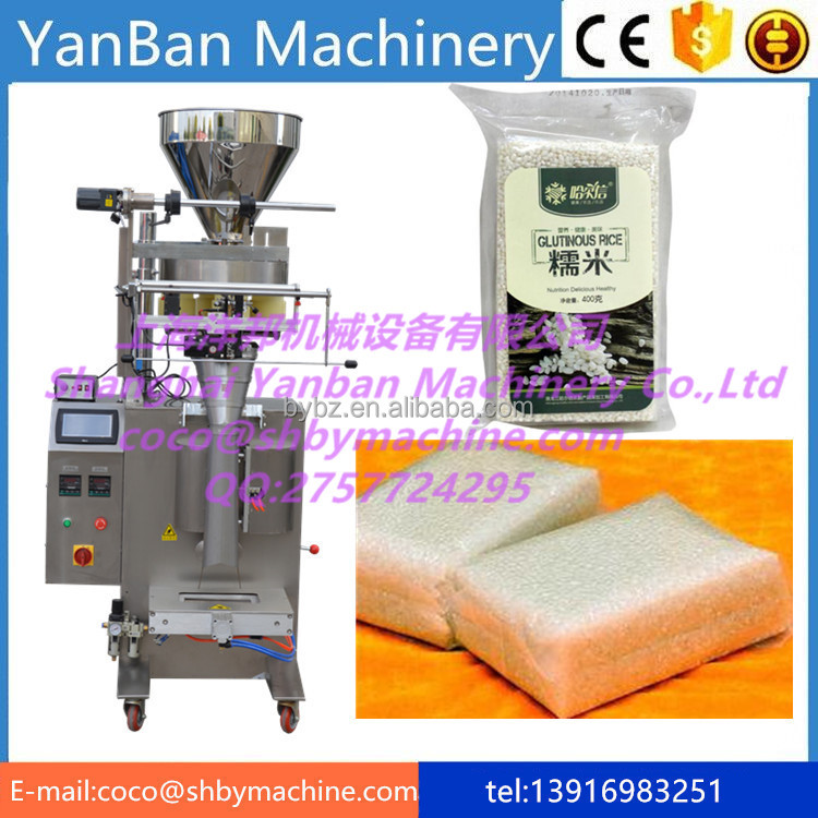 YB-300K Factory Price automatic Glutinous rice in bags filling and Packing Machinery