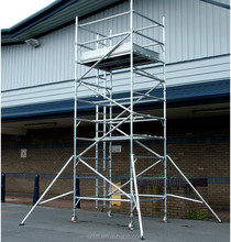 Load Capacity 200KGS Mobile Aluminum Scaffolding system