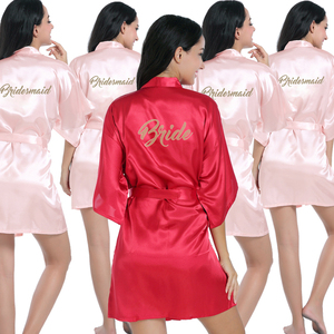 Colorful Quick Dry Mariage Party Wedding Bridesmaid Bridal Robes