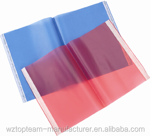 plastic sleeves for notebook/protection jacket for books/Tinted book cover with adhesive strips