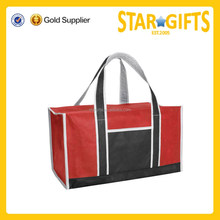 wholesale cheap plain travel duffle bag with front pocket
