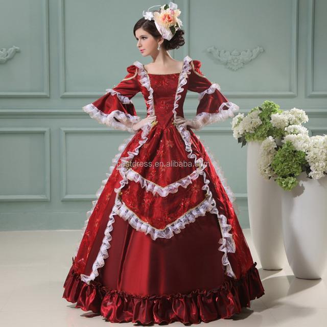 ball gown costumes for girls_Yuanwenjun.com