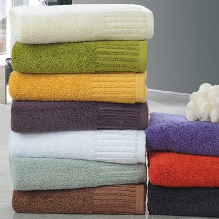 Hotel White Towel Set/ Guesthouse Using 100% Cotton Bath Towels